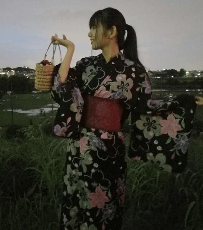 田辺奈菜美浴衣