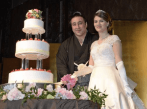 栃ノ心、嫁、結婚式