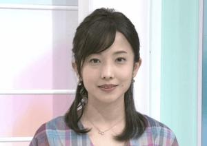 林田理沙アナのロングヘアーがかわいい