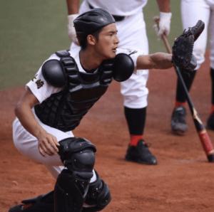 岡田健史、野球部
