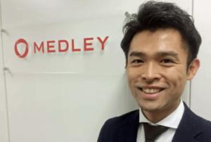 株式会社メドレーの代表取締役医師である豊田剛一郎さん