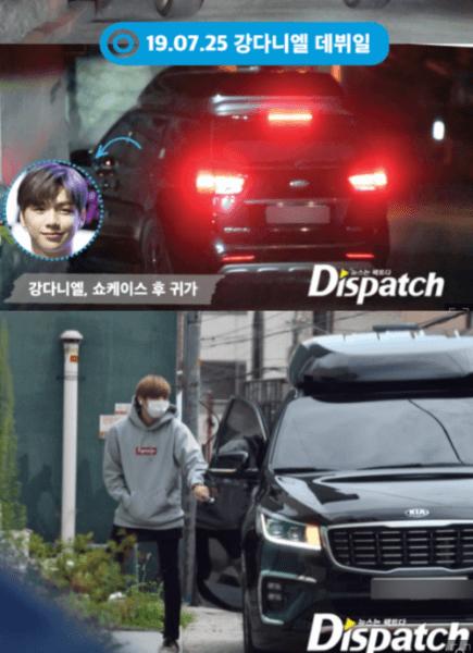 カンダニエルと車