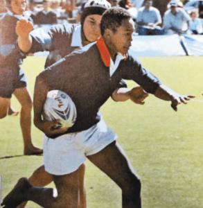 中学生時代に南アフリカでプレーしていた松島幸太朗