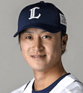 西武の金子侑司選手の顔画像