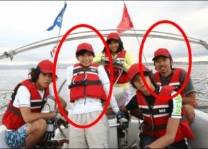 入来茉里と柄本時生が共演した時のドラマ「海の金魚」での画像
