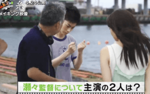 糸で共演する菅田将暉と小松菜奈