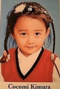 3歳当時のCocomi