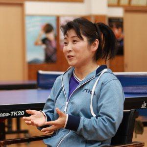 平野美宇選手の母親