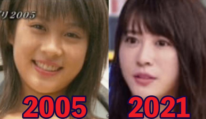 北乃きいの昔デビュー当時の顔と現在2021の顔比較画像