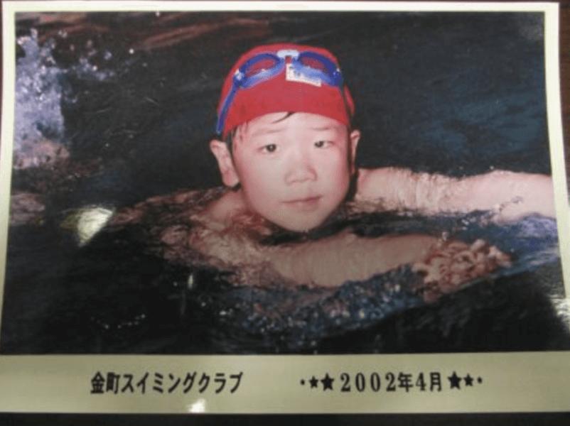 5歳のときの松本克央