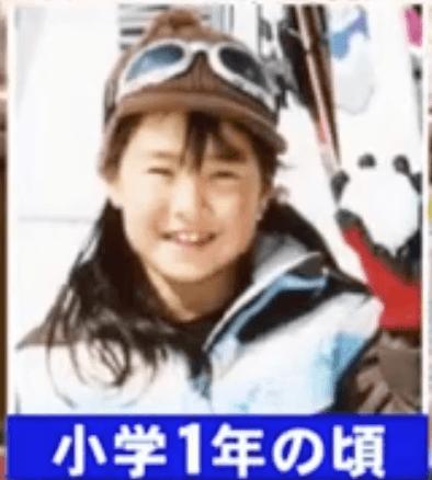小学一年の後藤希友