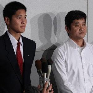大谷翔平選手の父親