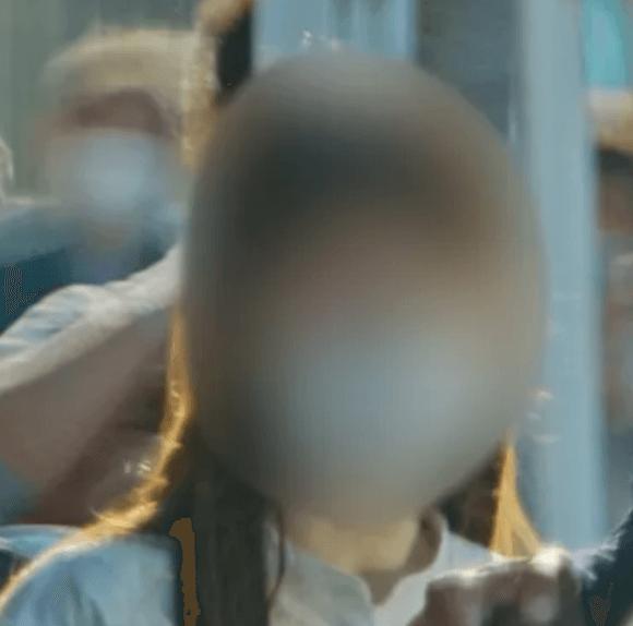 A子の顔画像