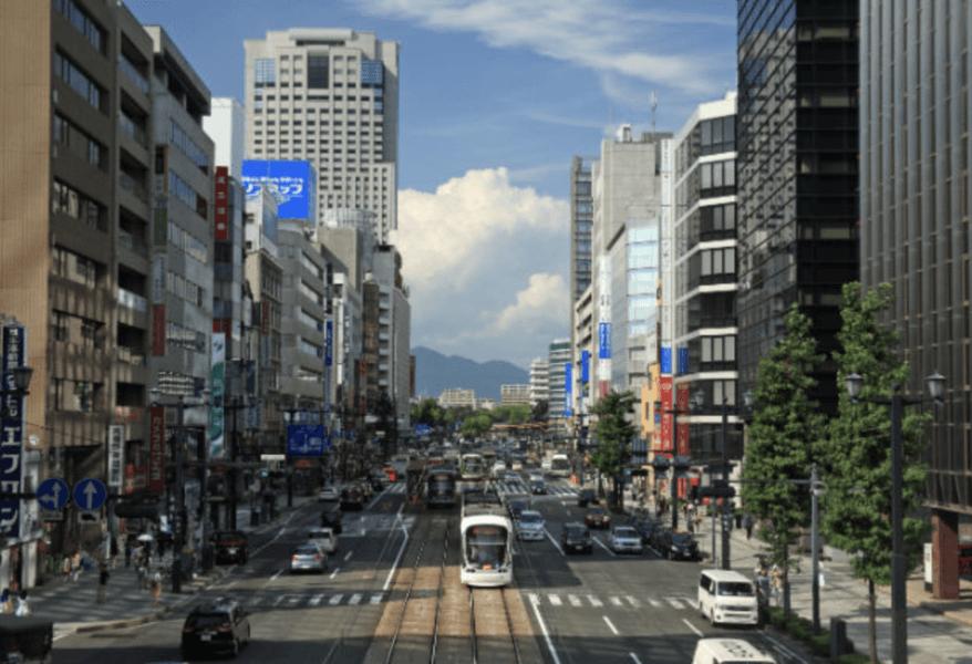 広島の市街地