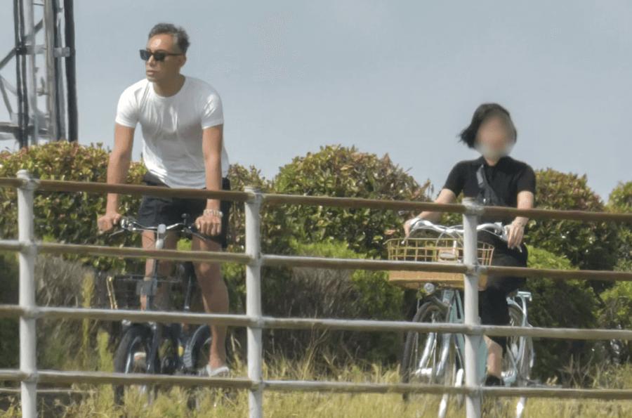 田園風景の中4時間もサイクリング